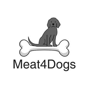 Logo-Meat4Dogs | vers vlees voor hond en kat
