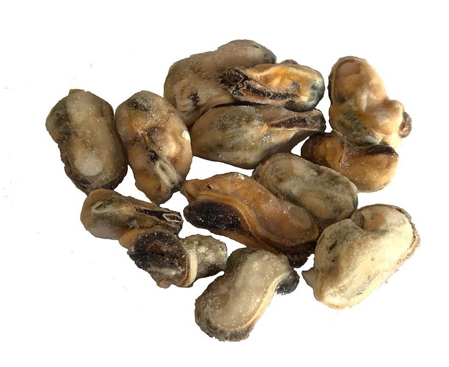 Mosselen (zonder schelp) los ingevroren 1 kilo